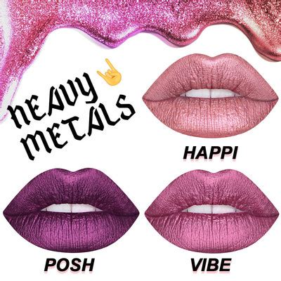 Lime Crime Metallic lime crime launches new metallic velvetine colors and