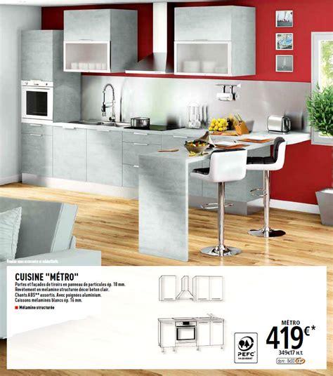 tarif cuisine brico depot ophrey com modele cuisine brico depot pr 233 l 232 vement