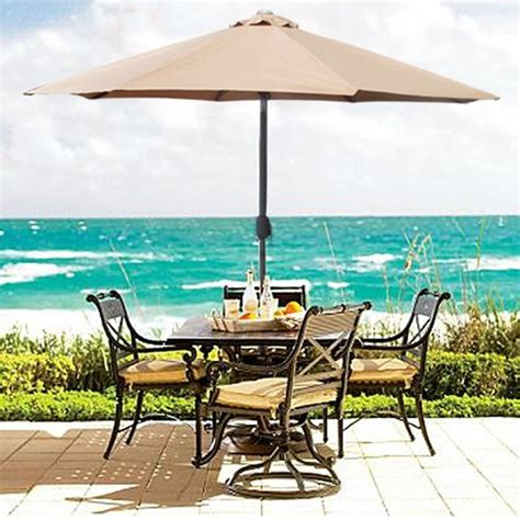 umbrellas for patio tables the 5 best patio umbrella styles umbrellify net