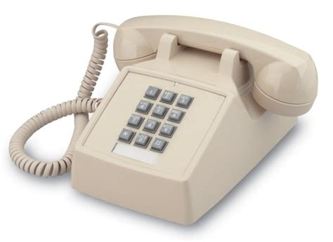 cortelco basic 2500 analog phone 250000 vba 20m