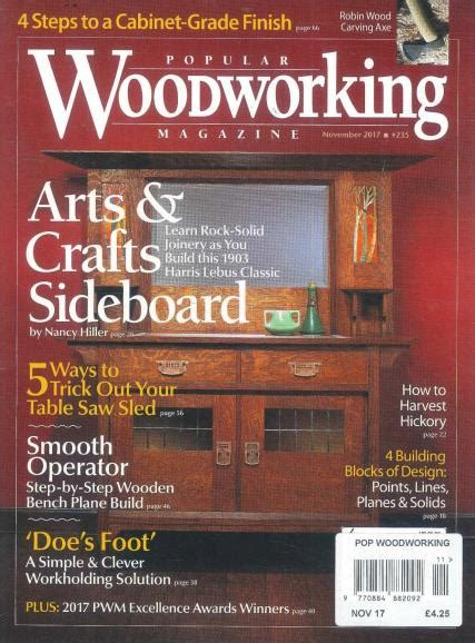 best woodworking magazines popular woodworking magazine subscription
