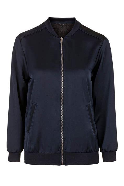 Boomber Jacket satin bomber jacket topshop