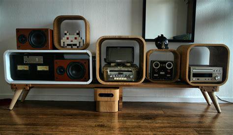 retro hi fi cabinet hifi rack retro style by psykomot on deviantart