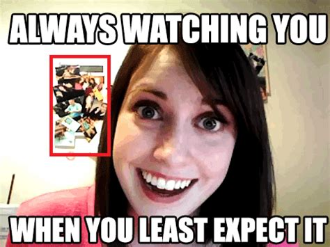 Over Girlfriend Meme - 2spooky overly attached girlfriend know your meme