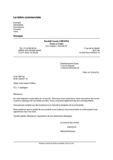 Présentation courrier administratif type courrier | Psco