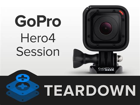 Gopro Hero4 Session gopro hero4 session teardown ifixit