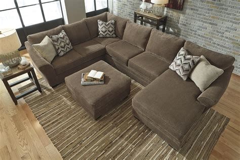 3 piece sectional with chaise contemporary 3 piece sectional with right chaise by