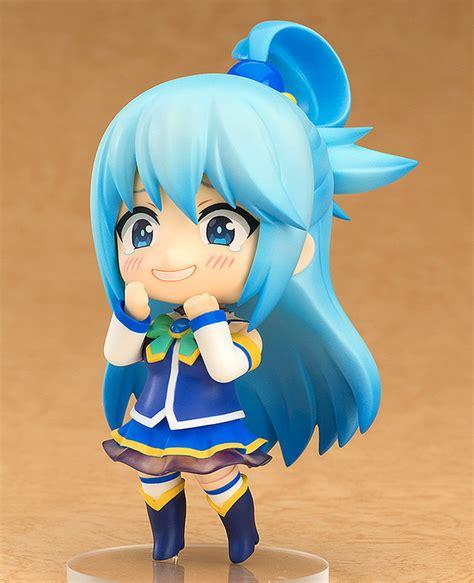 Nendoroid Faceplate 491 Set crunchyroll quot konosuba quot aqua nendoroid and scale figure go on sale