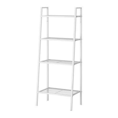 Amazon Com Ikea Lerberg Shelf Unit Bookcase White Bookcase Ladder Ikea
