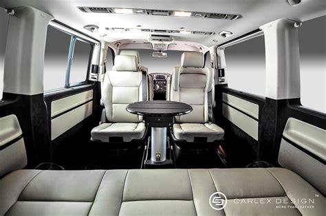 luxury minivan interior ultra lux carlex criollo s up the idea of a luxury minivan