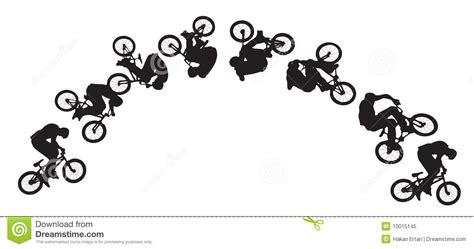 secuencia de imagenes en movimiento amor secuencia de salto de la bici ilustraci 243 n del vector