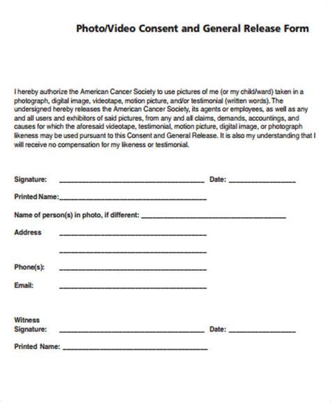 general release form sle 8 exles in word pdf