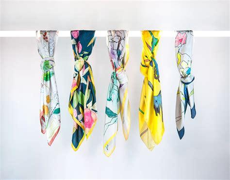 finds silk scarves homegirl