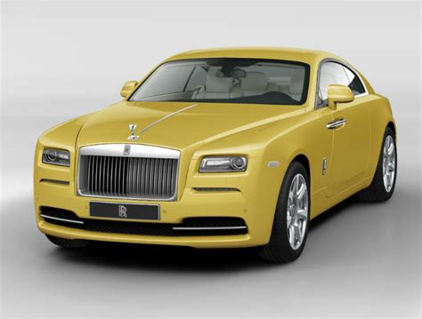 yellow rolls royce wraith rolls royce wraith 2015 couleurs colors