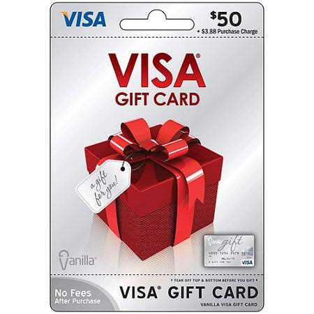 List Of Gift Cards Sold At Walmart - visa 50 gift card walmart com