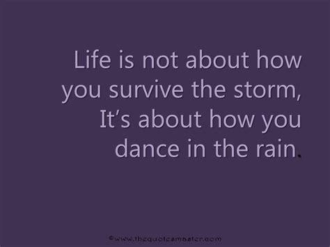 quote  surviving life