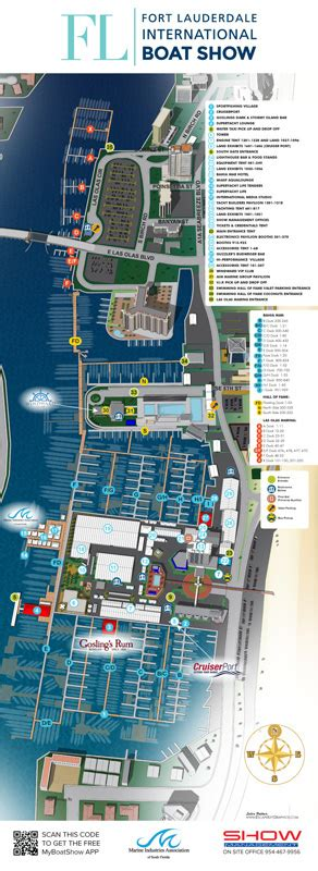 boat canvas fort lauderdale illustrated maps for a boat show in fort lauderdale on