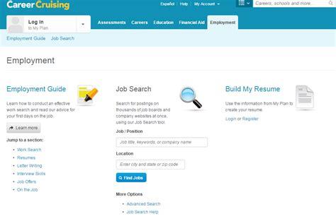 career cruising resume builder career cruising resume resume ideas