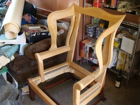 wing  chair show