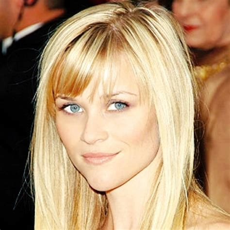 hairstyles with bangs reese witherspoon reese is the queen of wispy side bangs hair pinterest