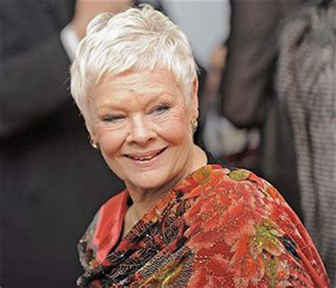how to cut judi dench bangs 19 best judi dench hair images on pinterest hair cut