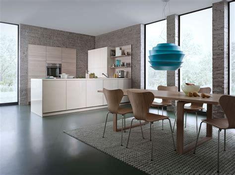 cuisine moderne kanto leicht avec meubles supendus photo cuisine en bois cinq mod 232 les pour s inspirer