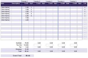 cost analysis comparison template 5 cost analysis templates and exles for word excel