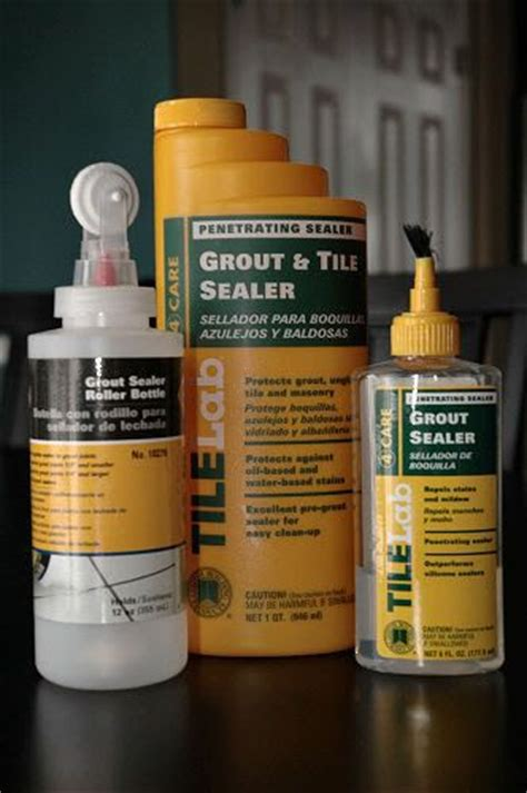 sealing grout cleaning pinterest