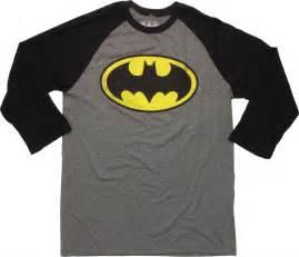Logo T Shirt Batman Logo 3 4 Raglan T Shirt