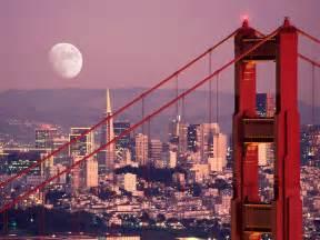 Gt the moon over san francisco san francisco california usa