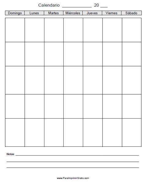 calendario 2017 para imprimir blanco calendario 2017 para imprimir en blanco