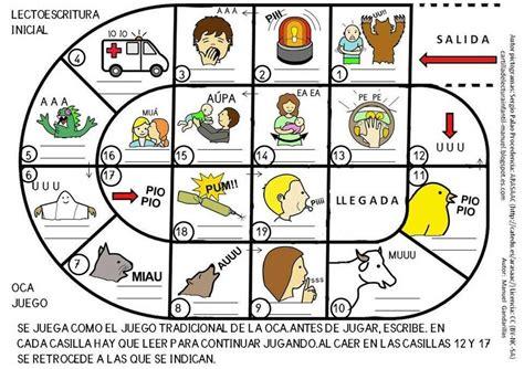 lecturas del juego de 8467507578 cartilla de lectura infantil digital juego de la oca lectoescritura inicial