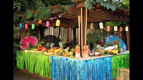 hawaiian christmas party ideas colorful hawaiian decorations