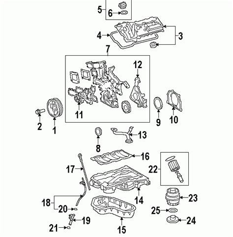 toyota oem parts diagram 2007 toyota camry parts diagram automotive parts diagram