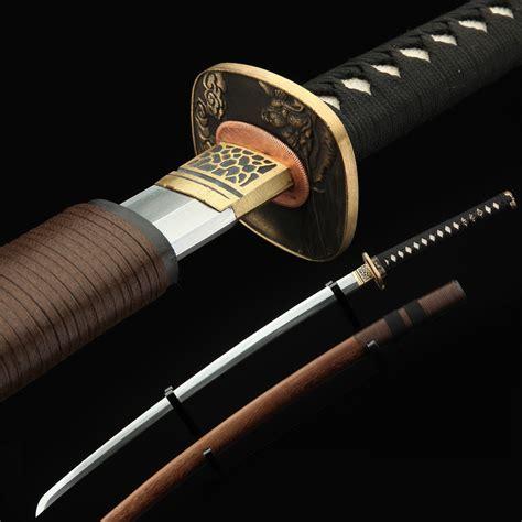 Handmade Japanese Katana - samurai sword handmade 608 pattern steel japanese katana