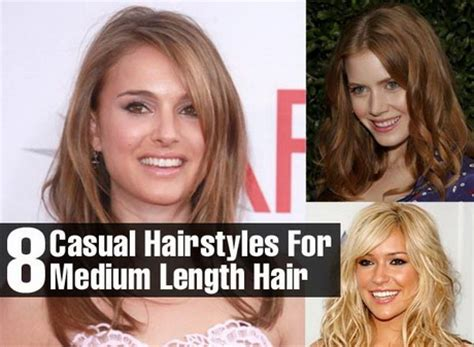 everyday hairstyles for medium length everyday hairstyles for medium length hair