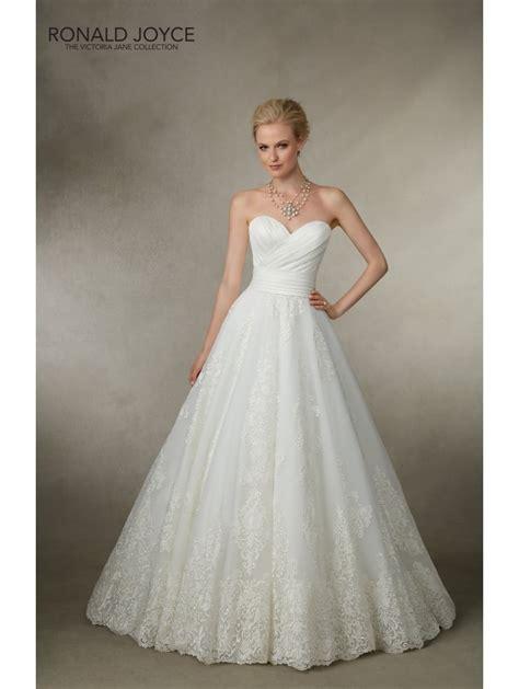 ronald joyce 18018 gown style wedding dress white
