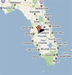 lakeland florida maps sighting reports 2011