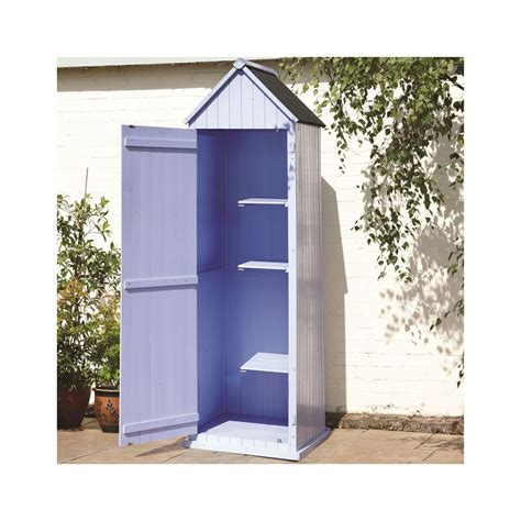 Sentry Shed by Shedswarehouse Salcombe 2ft X 2ft Blue Salcombe