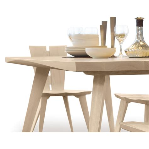 axis extension dining table copeland furniture solid