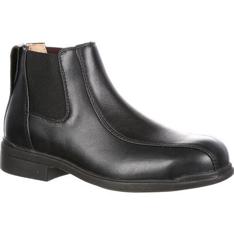 blundstone executive steel toe dress work shoe blu782