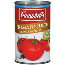cbell s from concentrate tomato juice 46 oz walmart