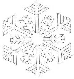 snowflakes templates snowflake pattern coloring pages