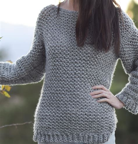 how to fix a in a knit sweater how to make an easy crocheted sweater knit like