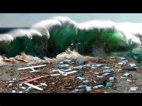detik tsunami lihat detik detik tsunami dahsyat yang terekam kamera