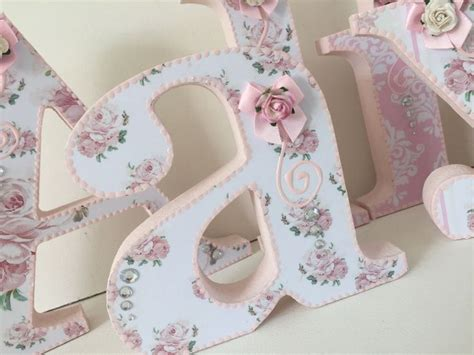 Decorated Letters For Nursery 25 Best Ideas About Decorated Wooden Letters On Pinterest Decorated Letters Decorating