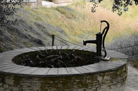 schwengelpumpe die guenstige brauchwasserquelle