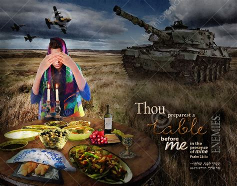 Thou Preparest A Table by Psalm 23 5 Karinforeman