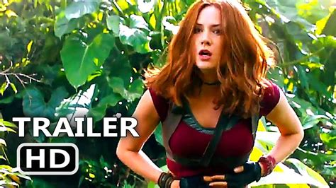 actress name of journey to the mysterious island jumanji 2 trailer 2017 kevin hart dwayne johnson youtube