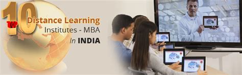 Mba Distance Education In India by Top Distance Learning Mba Programmes In India